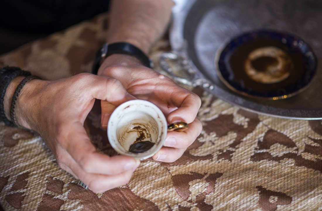 Fortune Telling in Coffee grinds